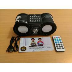 FLECO ARMY Speaker Aktif Murottal Quran REPEAT per Ayat ada Fitur Bluetooth