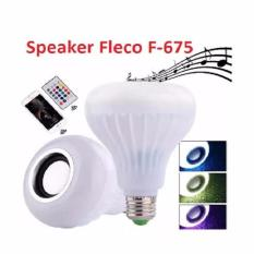 Beli Fleco Lampu Led Speaker F 675 Bluetooth With Remote Fleco Asli