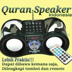 Spesifikasi Fleco Tmj Speaker Al Quran 30 Juz Hadist Doa Harian Anak Muslim Yg Baik