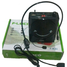 Spek Fleco Voice Amplifier With Microphone Indonesia