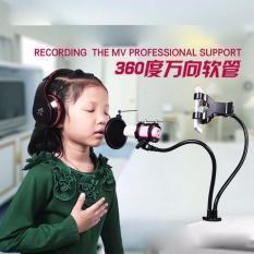 Jual Fleksibel Stand Mikrofon Bop Dan Smartphone Holder Universal Murah Di Dki Jakarta