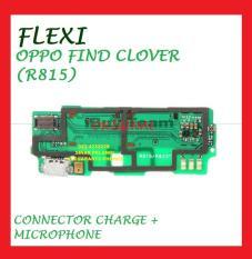 FLEXI OPPO FIND CLOVER R815 CON TC MIC FLEXIBLE CHARGER ORI 904082
