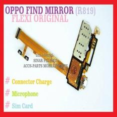 FLEXI OPPO FIND MIRROR R819 CONNECTOR CHARGER SIM FLEKSI ORI 904083