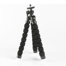 Fleksibel Mini Kecil Tripod Penyangga Kamera untuk GoPro Nikon Canon Sony Hitam-Internasional