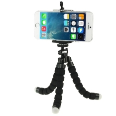 Flexible  Octopus Bubble Tripod Holder Stand Mount for Mobile Phone / Digital Camera (Black)