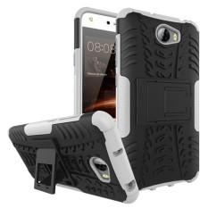 Flip Case untuk Huawei Y5 II CUN U29 L21 L01 Cover ShockProof Armor Cover untuk Coque Huawei Y5 II Y5 2 Y6 2 Compact Case-Intl