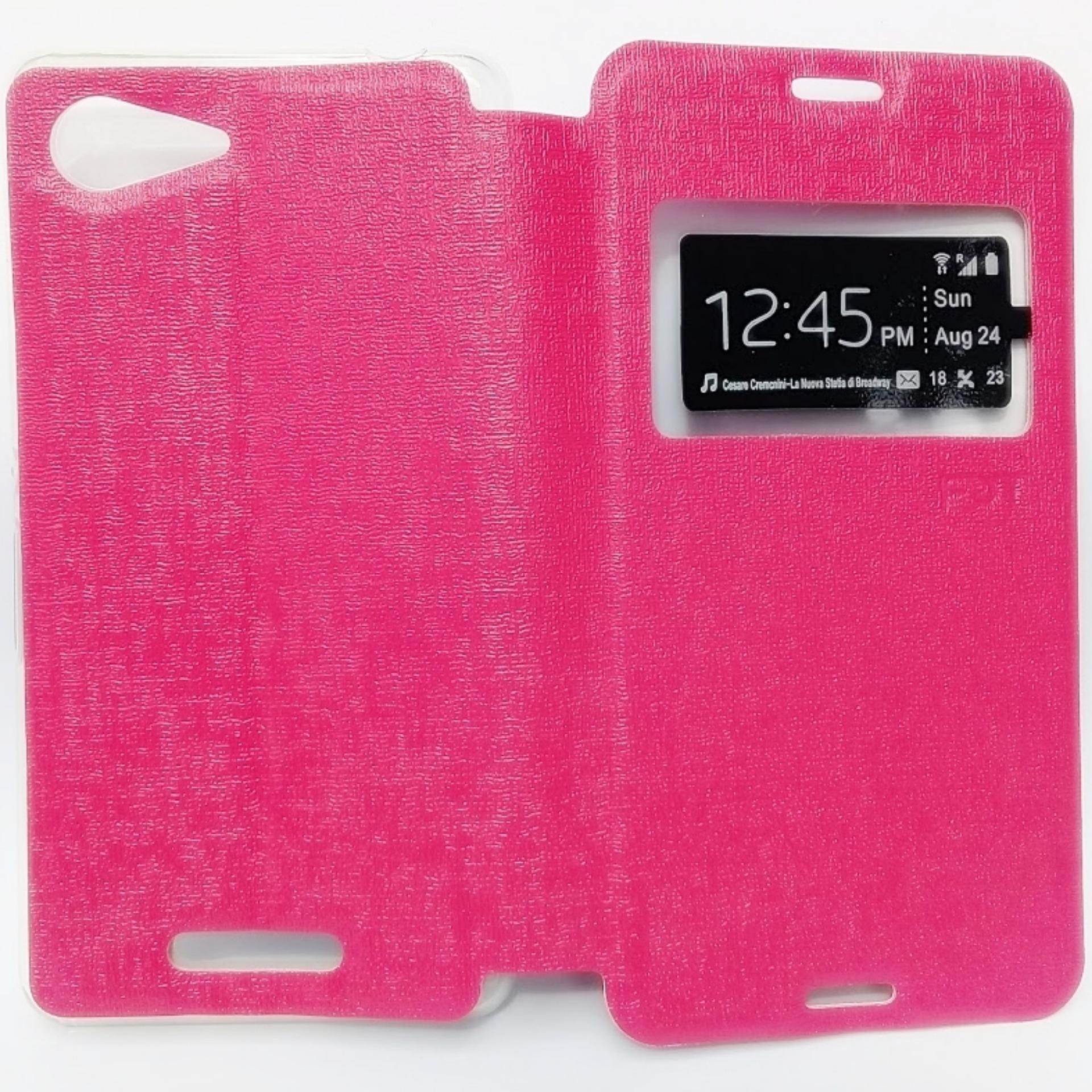 Mercury Fancy Diary Leather Case Sarung Cover For Lenovo S920 Flipshell Softcase / Sarung Case /
