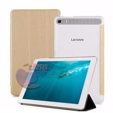 Flip Cover Lenovo PHAB Plus PB1-770N Ukuran 6.8 Inch Leather Case Sarung / Leather Cover / Flipshel