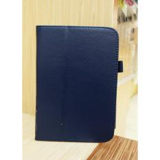 Flip Cover Samsung Tab3 7 Inci Biru Dongker
