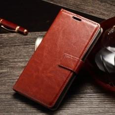 FLIP COVER WALLET Asus Zenfone 4 Selfie 5.5 Inch ZD553KL Flip Case Dompet Kulit Back Cover Casing