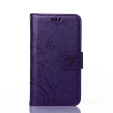Flip Leather Case untuk Samsung Galaxy A3 2015 A 3 300 A300 Flip Phone Leather Cover untuk Samsung Galaxy A300FU A300H A300M SM-A300FU SM-A300H SM-A300M Case Cover-Intl