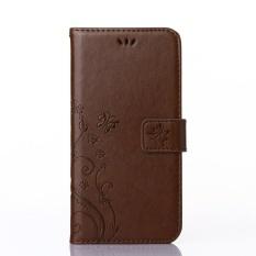 Flip Leather Case untuk Samsung Galaxy S 3 III Mini S3 SIII I8190 GT-i8190 GT-i8190L Nilai Edisi VE I8200 GT-i8200 Kasus Telepon Kulit Cover-Intl