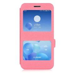 Flip Kulit Melindungi Back Cover untuk Lenovo ZUK Z1 (Pink) (...)-Intl
