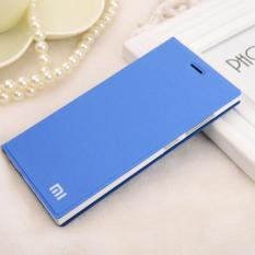 Harga Flip Dompet Kulit Case Cover Untuk Xiaomi Redmi 4A Biru Lt Intl Baru Murah