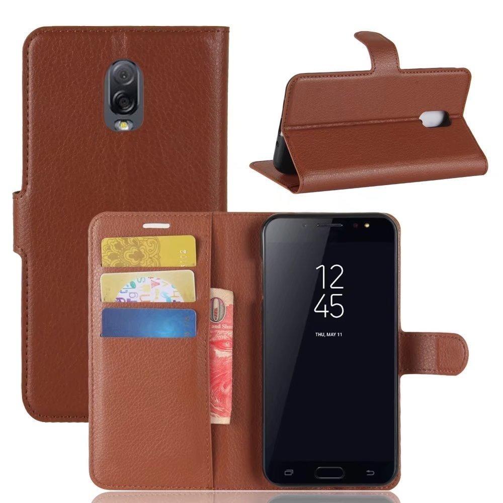 Diskon Flip Pu Dompet Kulit Cover Case Untuk Samsung Galaxy J7 Plus J7310 Intl Oem Dki Jakarta