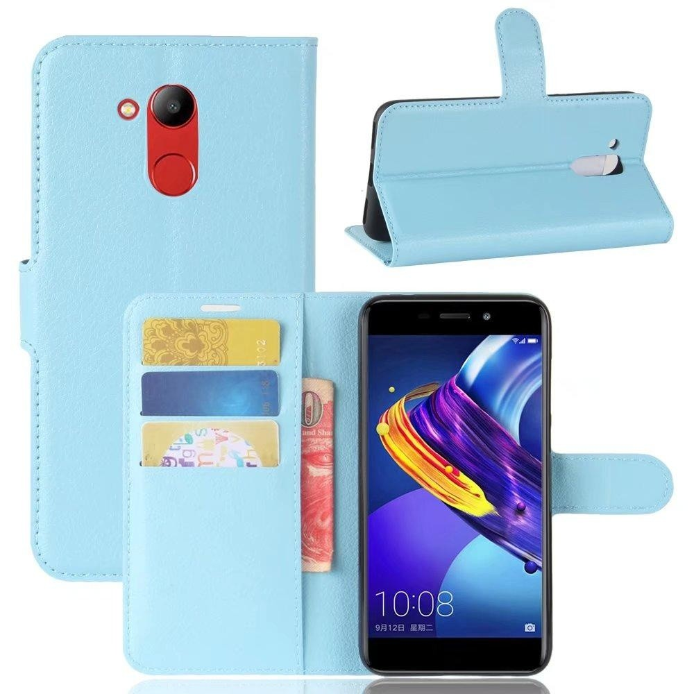 Flip PU Kulit Dompet Cover Case untuk Huawei Honor V9 Play/Honor 6C Pro-Intl