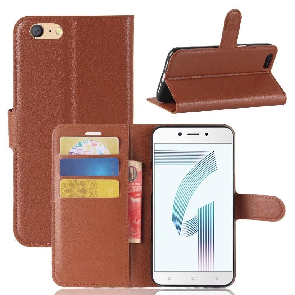 Promo Flip Pu Kulit Dompet Cover Case Untuk Oppo A71 Intl Tiongkok