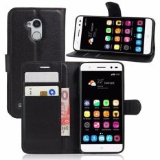 Flip Wallet Leather Cover untuk ZTE Blade V7 Lite Case 5.0 Inch Stand Fungsi Tempat Kartu-Intl