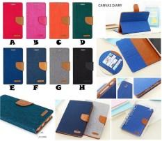 Flipcover Flipcase Flip Cover Case Canvas Diary Xiaomi Redmi 4 - 4 Prime