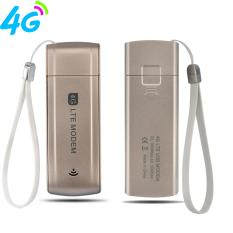 FLORA Portable 4g/3g Internet LTE Wireless USB MODEM USB Dongle (Emas)-Intl
