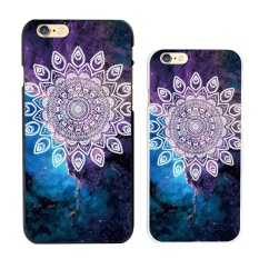 Floral Lace Mandala&Cosmos Pattern Hard PC Ultra Slim Case Cover - intl