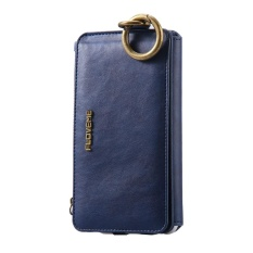 FLOVEME Dompet Kulit Zipper Dompet Pouch Case untuk Samsung Galaxy Note 5-Intl