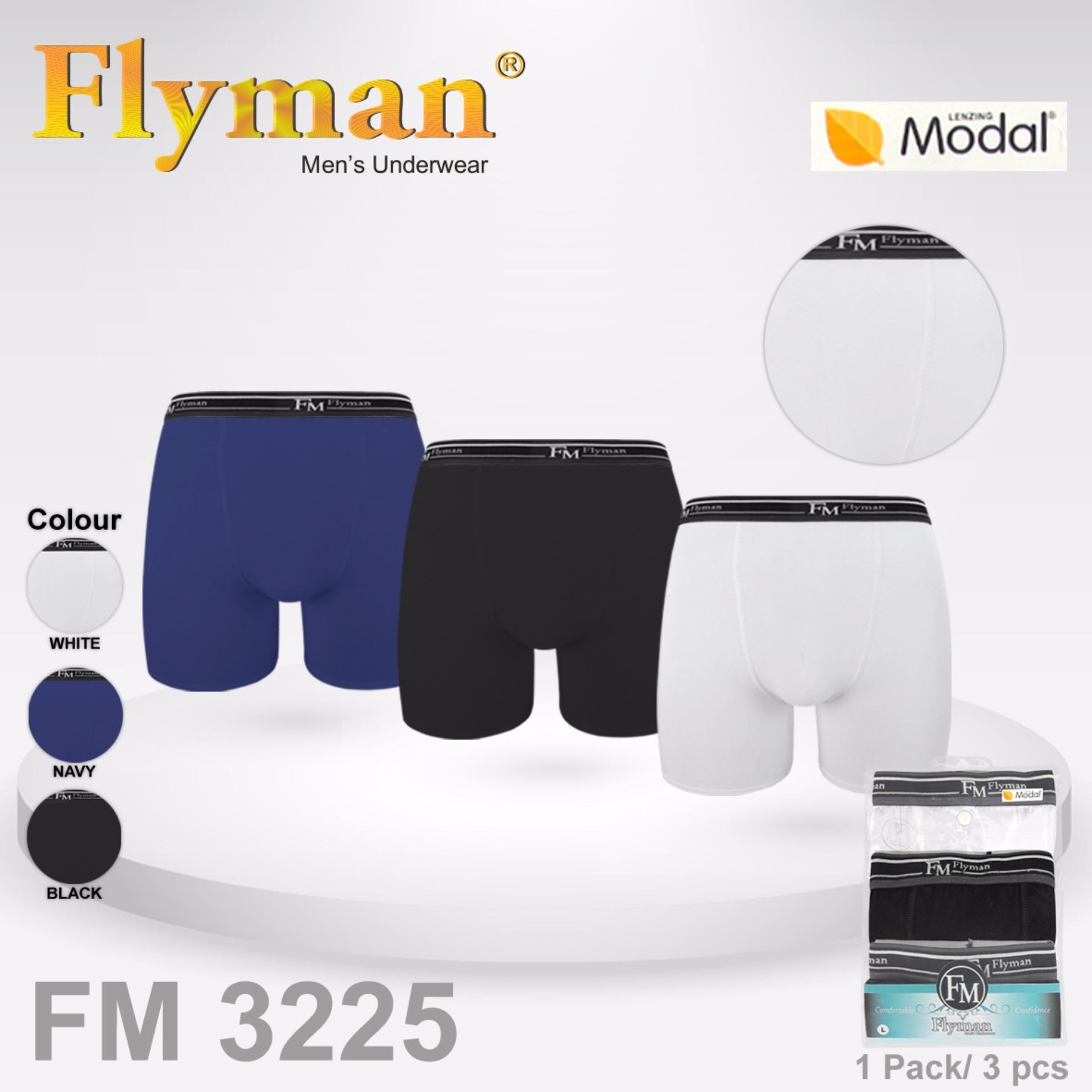 Jual Flyman Long Boxer Pria Dewasa 1 Pack 3 Pcs Fm 3225 Murah Di Dki Jakarta