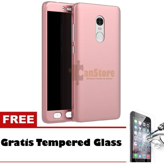 Rp 33.936 FlyStore - Hardcase 360 Xiaomi Redmi Note 4X Free Temperd Glass PremiumIDR33936. Rp 33.936