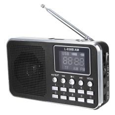 Situs Review Fm Am Mini Radio Digital Lcd Speaker Mp3 Music Player Aux Usb Tf Dengan Led Cahaya Hitam Internasional