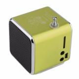 Jual Fm Radio Td V26 Speaker Mini Kartu Kecil Speaker Biru Intl Ori