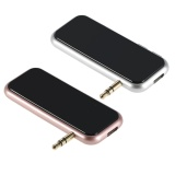 Harga Fm Transmitter Nirkabel Bluetooth Transmitter Modulator Mp3 Audio Pemutar Musik 3 5Mm Aux In Mobil Kit Hands Free Sebut Saja Mawar Emas Intl Yang Murah