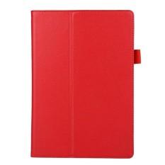 Lipat 10.1 Inci Penyangga Case Sarung untuk Lenovo Tab2 A10-70F (Merah)-Internasional