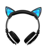 Lipat Berkedip Headphone Telinga Bercahaya Headphone Gaming Headset Musik Earphone Dengan Led Light Untuk Pc Laptop Komputer Mobile Phone Hitam Putih Intl Oem Murah Di Tiongkok