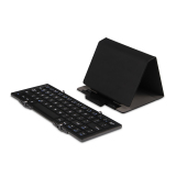 Harga Foldable Portabel Nirkabel Bluetooth Keyboard Ultra Slim Dengan Aluminium Alloy Body Dan Tutup Pelindung Untuk Ios Windows Dan Android Hitam Intl Original