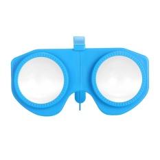 Ulasan Tentang Lipat Virtual Reality Kacamata 3D Vr Kacamata Pribadi 3D Cinema Untuk Android Ios Windows Ponsel Pintar Dengan 3 5 Sampai 6 Inches Intl