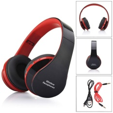 Promo Foldable Wireless Bluetooth Stereo Headset Handsfree Headphones Mic Intl