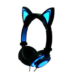 Harga Folding Headset Berkedip Led Telinga Bercahaya Musik Headphone Earphone Intl Asli Aukey