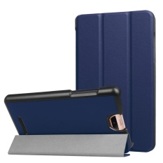 Folding Stand Leather Case Cover untuk Acer Iconia Talk S A1-734 Tablet BU-Intl