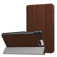 Folding Stand Leather Case Cover untuk Acer Iconia Talk S A1-734 Tablet BW-Intl