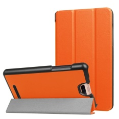 Folding Stand Leather Case Cover untuk Acer Iconia Talk S A1-734 Tablet ATAU-Intl