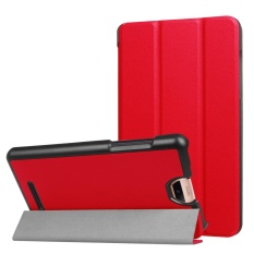 Folding Stand Leather Case Cover untuk Acer Iconia Talk S A1-734 Tablet RD-Intl
