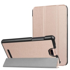 Folding Stand Leather Case Cover untuk Acer Iconia Talk S A1-734 Tablet RG-Intl