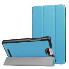 Folding Stand Leather Case Cover untuk Acer Iconia Talk S A1-734 Tablet SB-Intl
