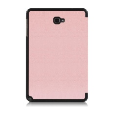 Folding Stand Leather Case Cover untuk Samsung TAB A 10.1 P580N/P585N 10.1 Inch PK-Intl
