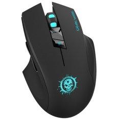 Harga Fome C10 Ergonomi Tak Bersuara Tombol Mouse Permainan Nirkabel Optik Hitam