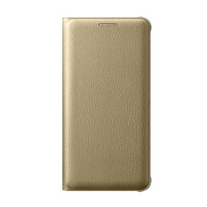 Fonel Simple Flip Wallet for Samsung Galaxy A5 2016 / A510 - Gold