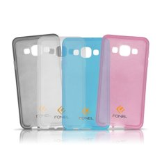 Fonel Transparent Jelly Case for Samsung Galaxy A5 - Blue