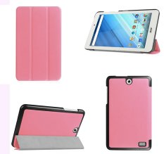 For Acer Iconia One 8 B1-850 case, Ultra Slim Lightweight Smart Cover Stand Case for Acer Iconia One 8 B1-850 (Pink) - intl