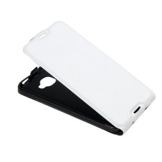 For Alcatel Idol 4S Vertical Flip Leather Case with Card Slot & Photo Frame(White) - intl