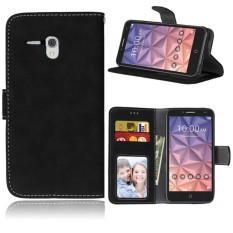 untuk Alcatel One Touch Case [Cofola] PU Kulit Flip Case Dompet Cover-Intl